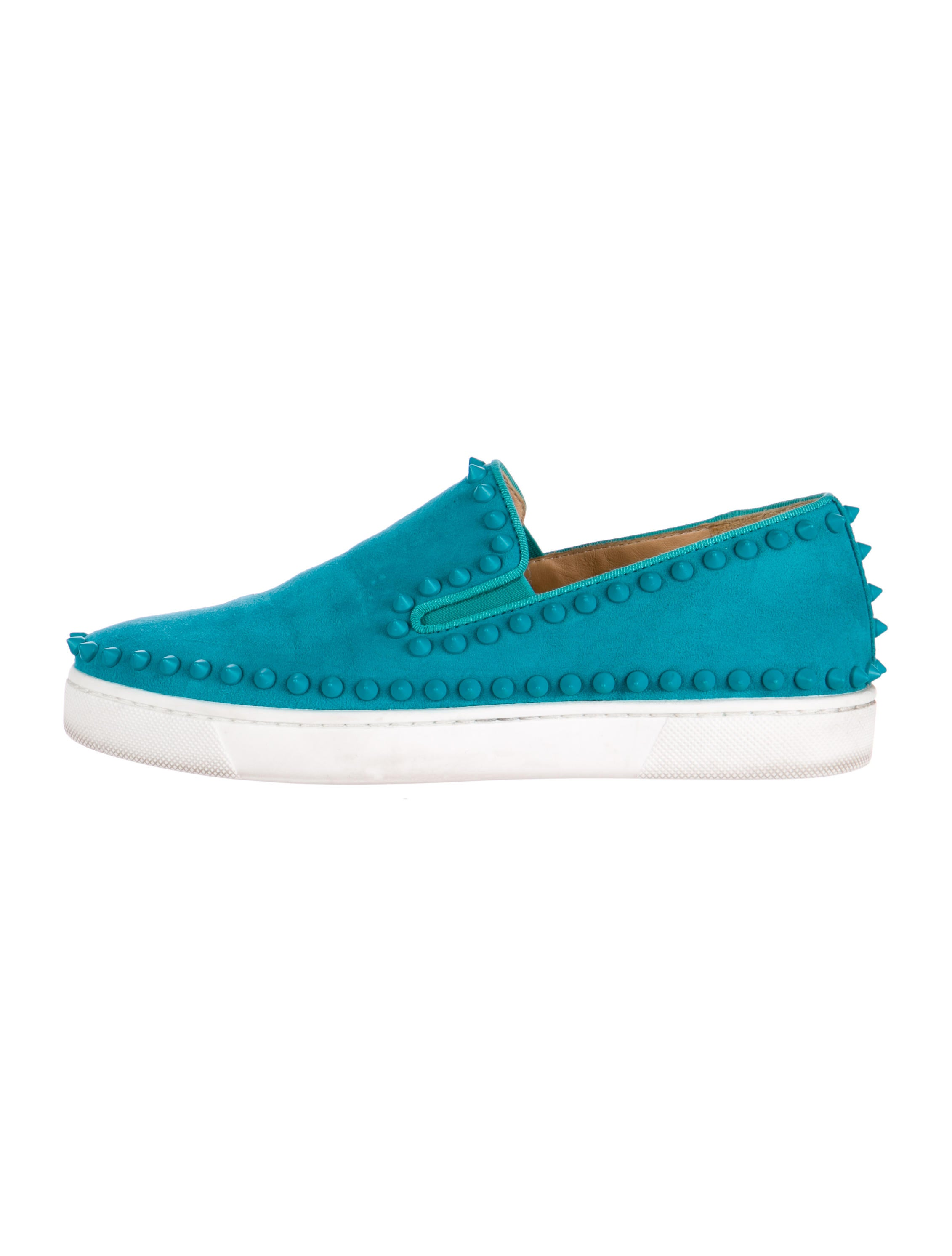 Christian Louboutin Pik Boat Slip-On Sneakers - Shoes - CHT43603 ...