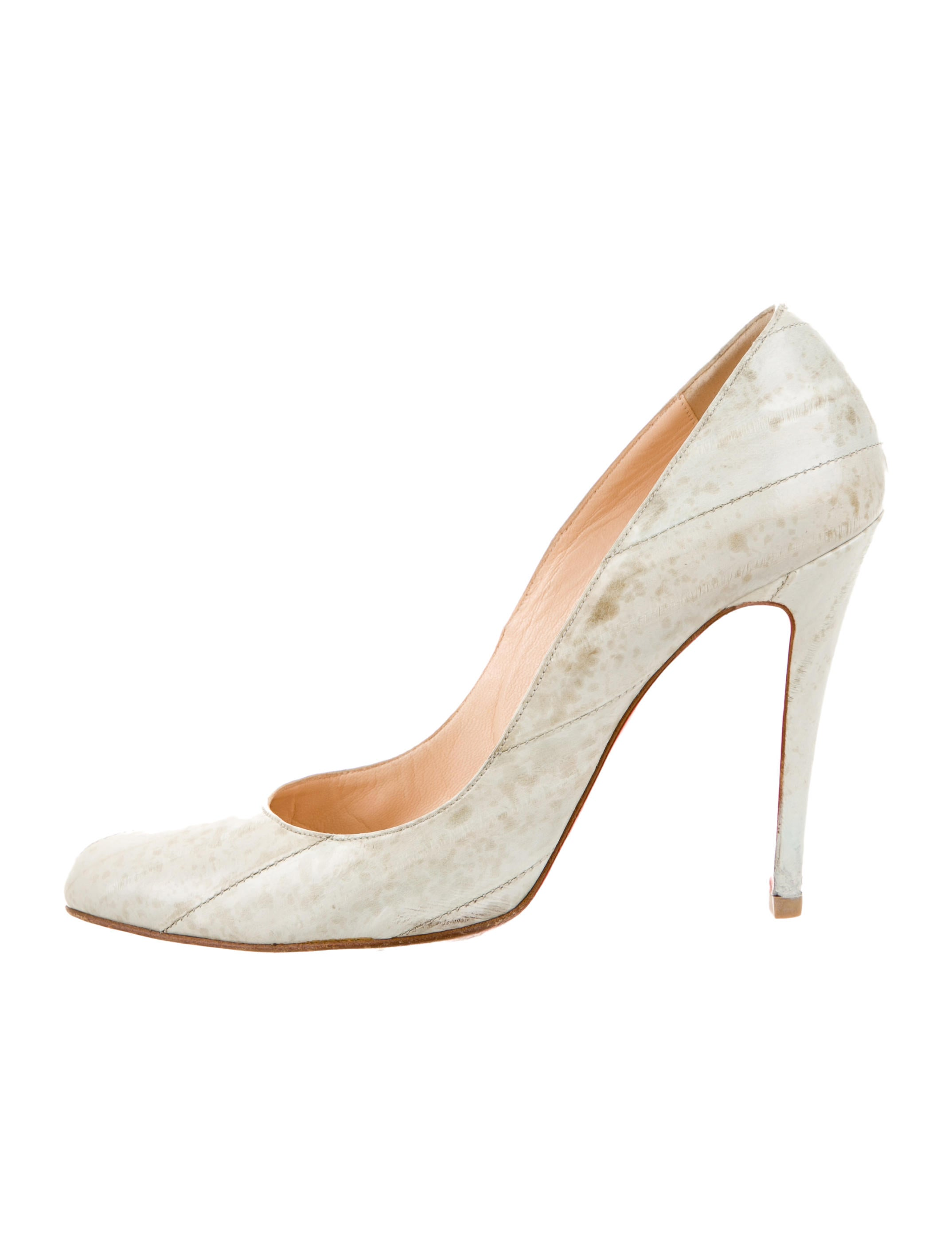 Christian Louboutin Eel Skin Pumps - Shoes - CHT43713   The RealReal