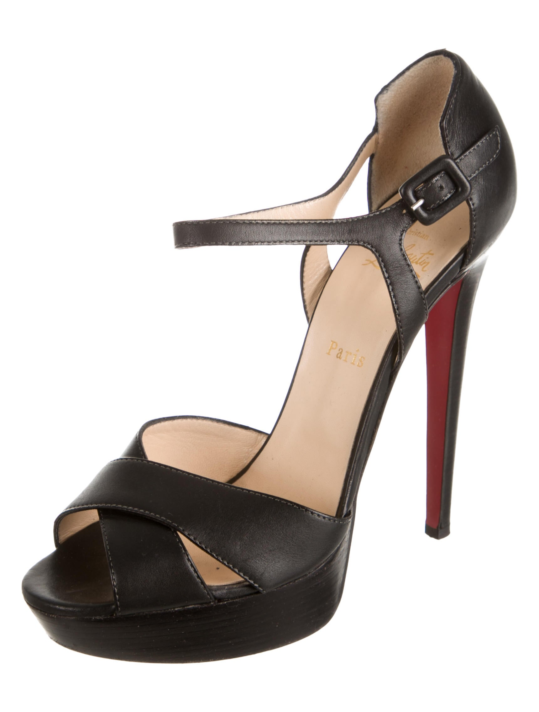 replica red bottom sneakers - christian louboutin sporting 140 platform sandals, black louboutins