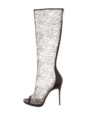 christian louboutin sneakers for men - Christian Louboutin Boots Luxury Fashion | The RealReal
