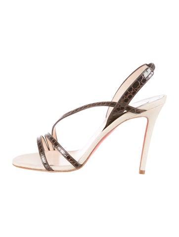 christian louboutin men sneakers replica - christian louboutin embossed round-toe sandals, fake louboutins ...