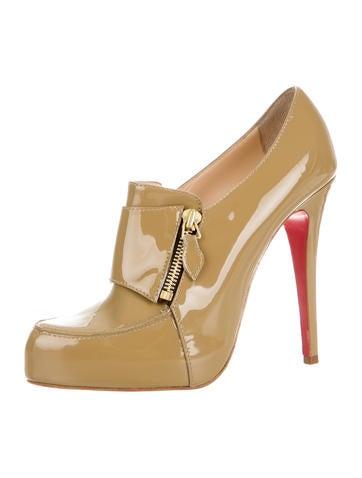 louboutin fake - Christian Louboutin Lapono Platform Booties - Shoes - CHT44800 ...