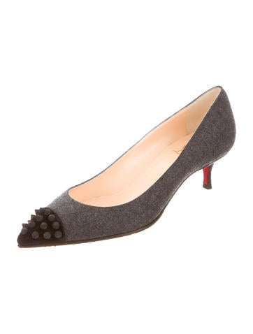 replicas shoes - Christian Louboutin Kitten Heels Luxury Fashion   The RealReal