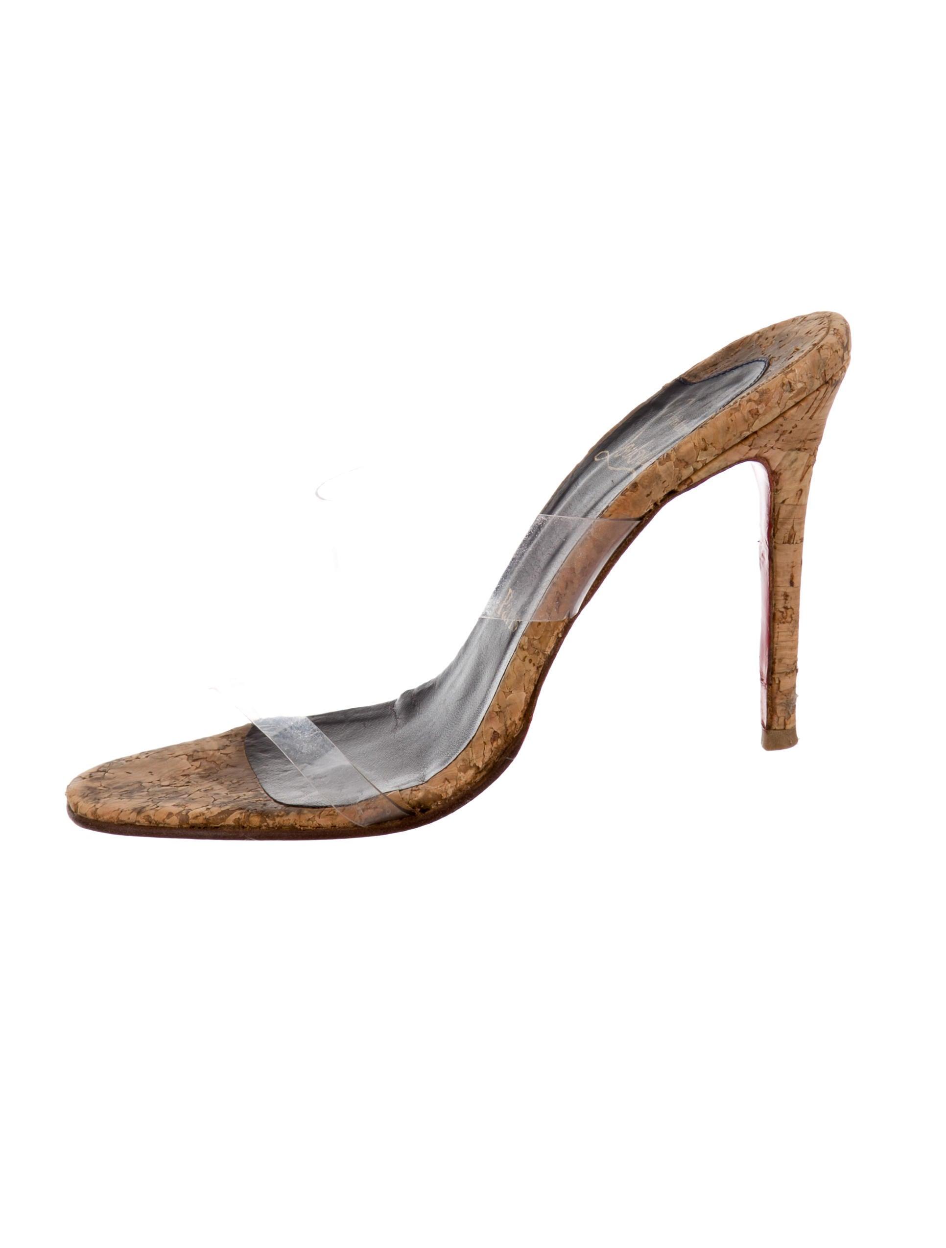 Christian Louboutin PVC Slide Sandals - Shoes - CHT44936 | The ...