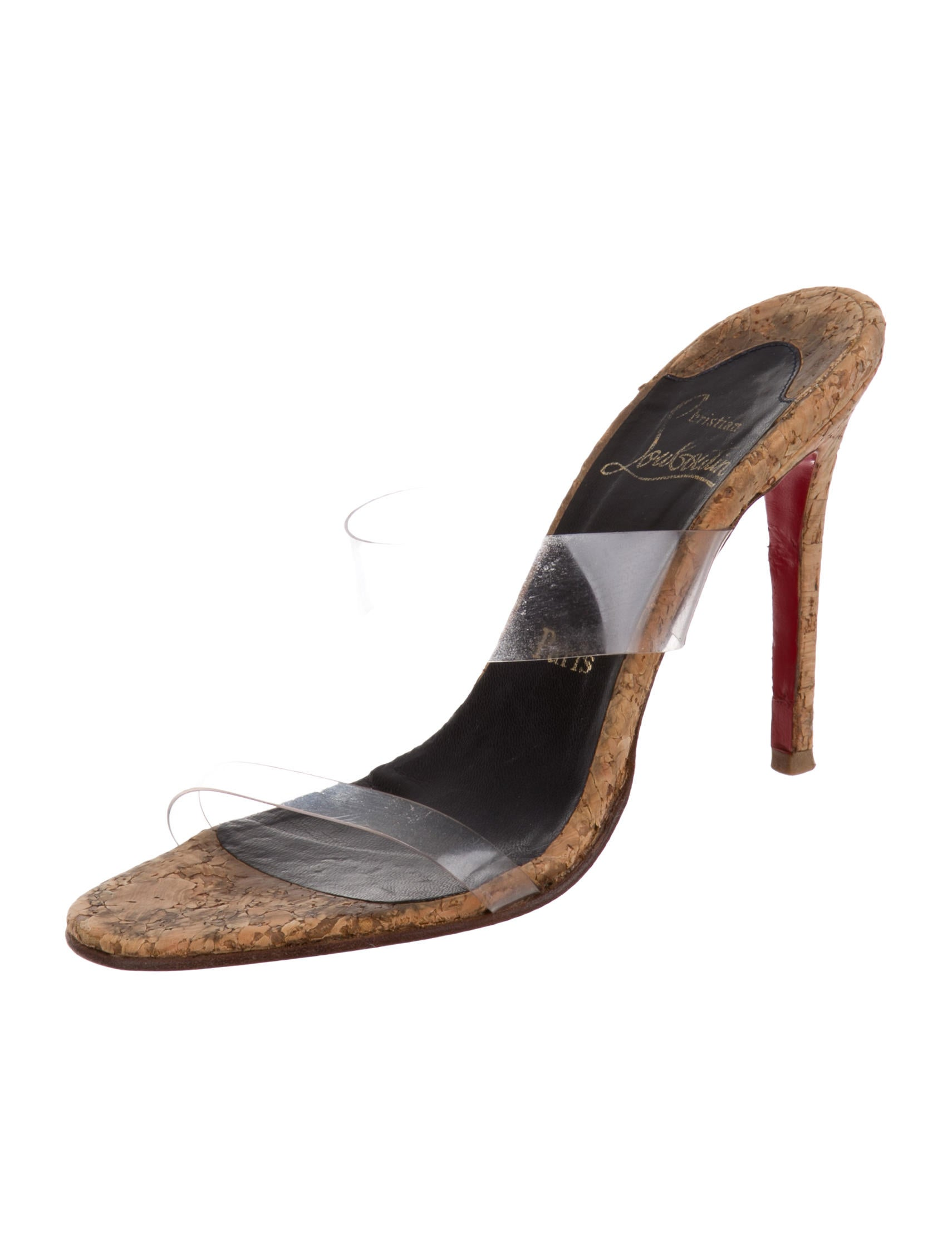 mens louboutin - Christian Louboutin PVC Slide Sandals - Shoes - CHT44936 | The ...