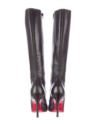 Christian Louboutin Simple Botta 100 Knee-High Boots - Shoes ...