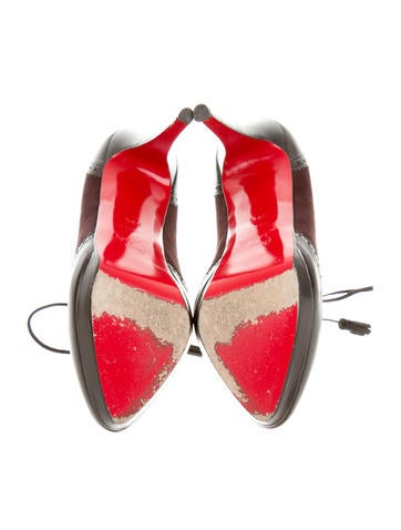 louis vuitton replica shoes - christian louboutin brogue-accented booties, red bottom sneakers ...