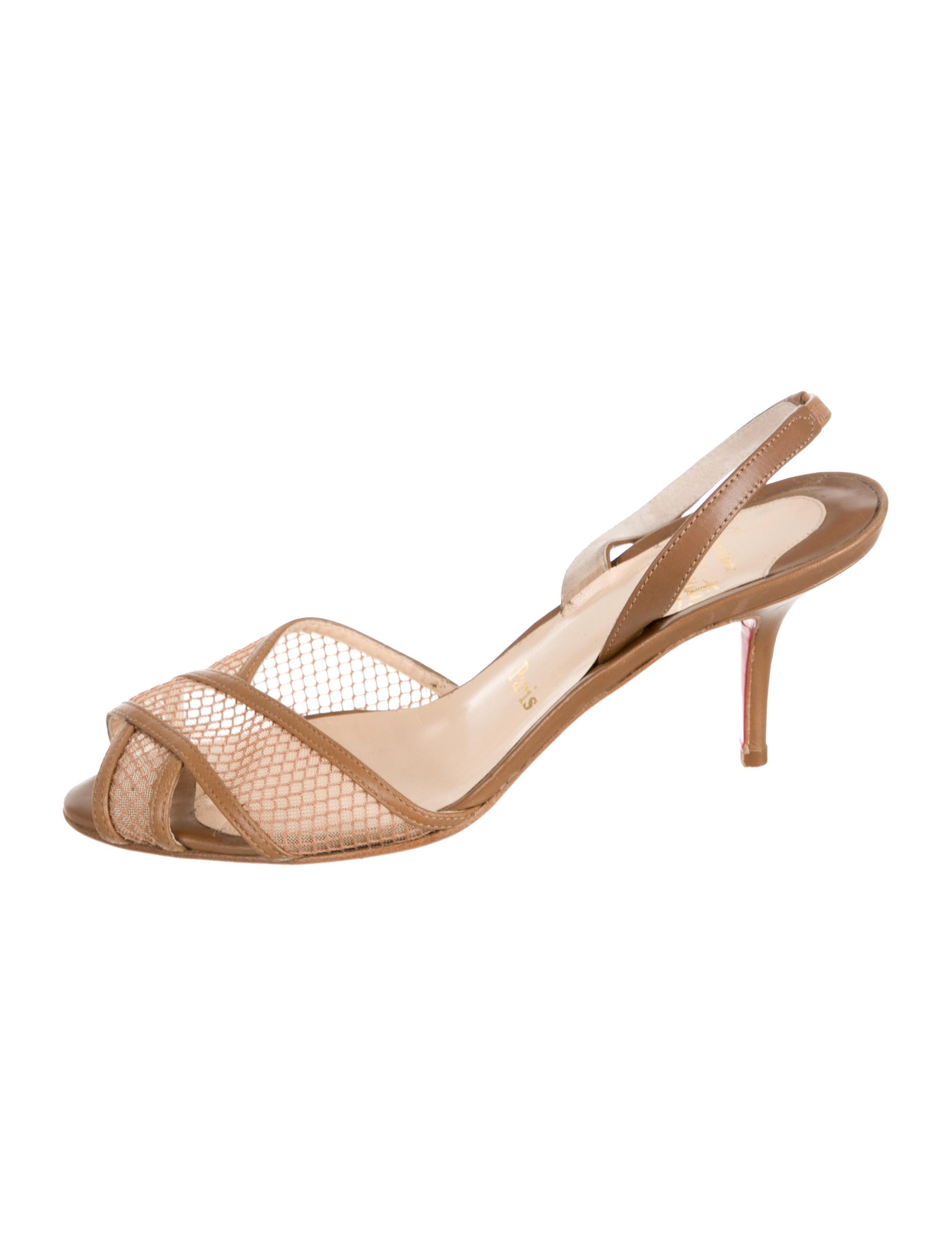 christian louboutin knockoff shoes - christian louboutin slingback mesh sandals, louboutin rollerboy ...