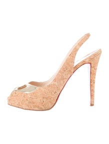 replica christian - Christian Louboutin Lady Peep Graffiti Pumps - Shoes - CHT44761 ...
