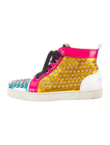 Christian Louboutin Spike High-Top Sneakers