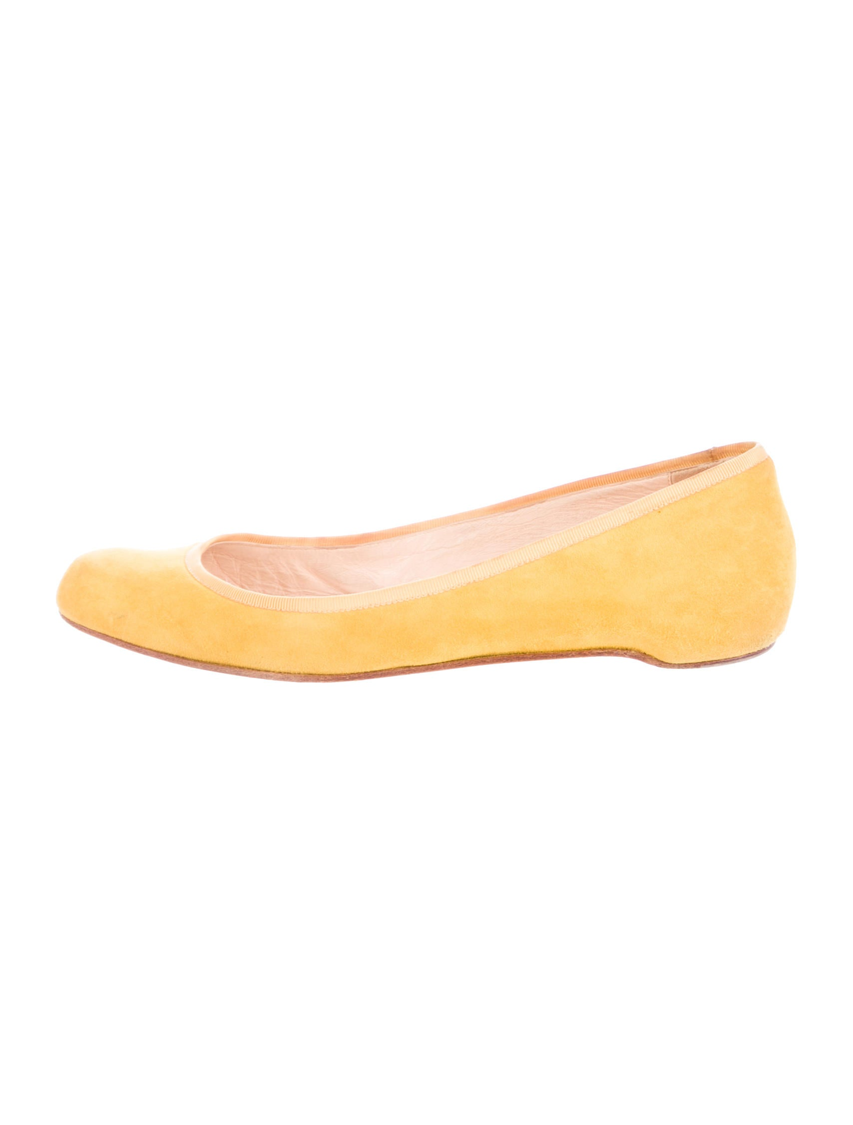 christian louis vuitton heels - Christian Louboutin Suede Round-Toe Flats - Shoes - CHT46223 | The ...