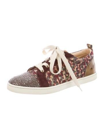 replica shoes christian louboutin - Christian Louboutin Sneakers Luxury Fashion   The RealReal