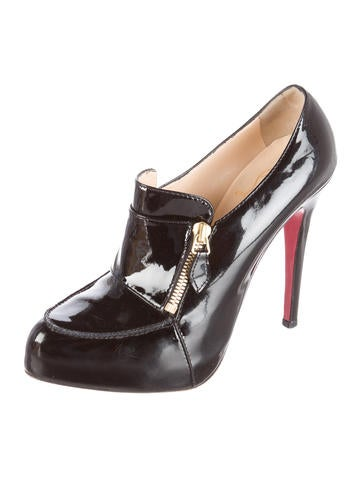 clone shoes - christian louboutin pleated leather booties, cheap louboutin shoes ...