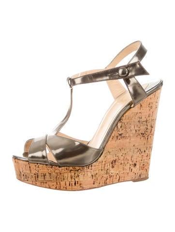 cheap louboutin shoes knockoffs - christian louboutin palma 70 espadrille wedges, replica shoes men