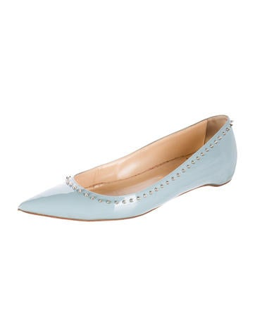 replica shoes christian louboutin - Christian Louboutin Flats Luxury Fashion | The RealReal