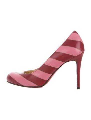 christian louboutin no prive 120 ponyhair pumps