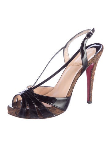 black spiked red bottom heels - Christian Louboutin Sandals Luxury Fashion | The RealReal