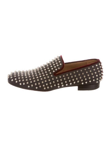 mens loafers with spikes - Christian Louboutin Men | The RealReal