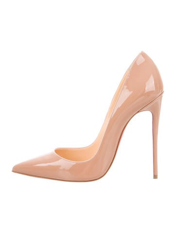 Christian Louboutin Patent Leather So Kate 120 Pumps