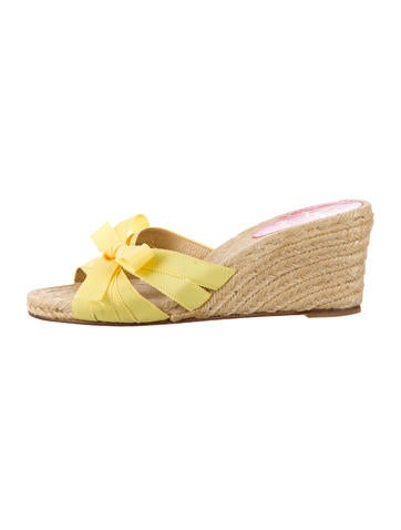 Christian Louboutin Espadrille Wedges None