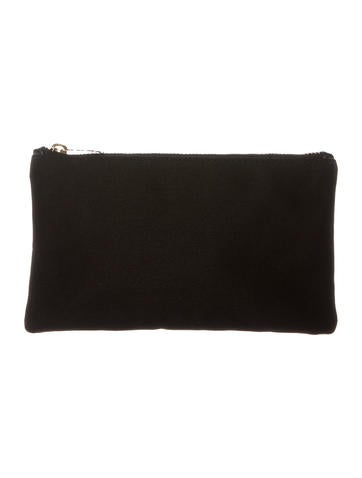 Charlotte Olympia Nylon Zip Pouch None