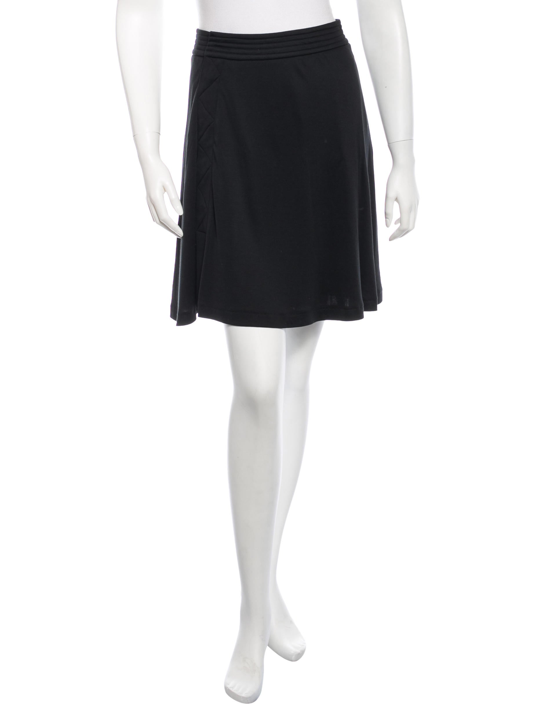 costume national knit a line skirt clothing cot21710