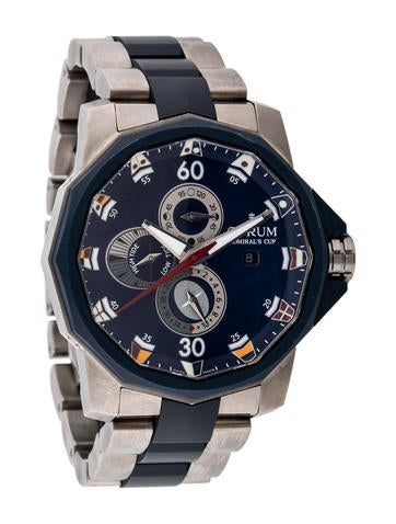 Corum Admiral's Cup Navy Tides 48 Watch None