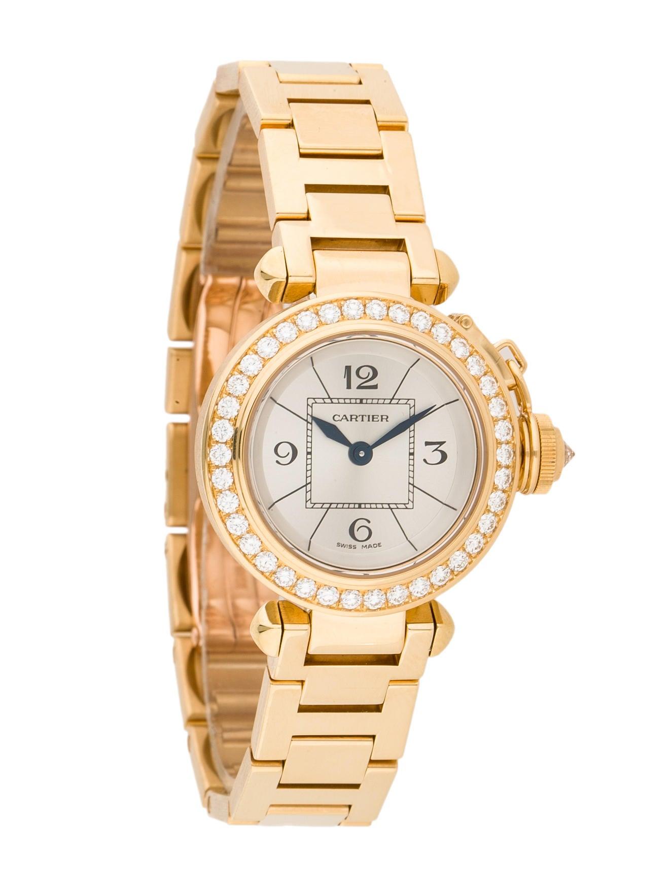 Cartier Gold Pasha Watch Cartier Miss Pasha Watch