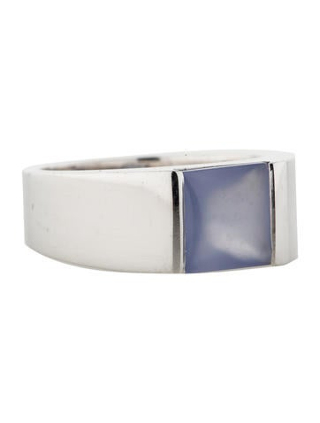 Cartier Chalcedony Tank Ring