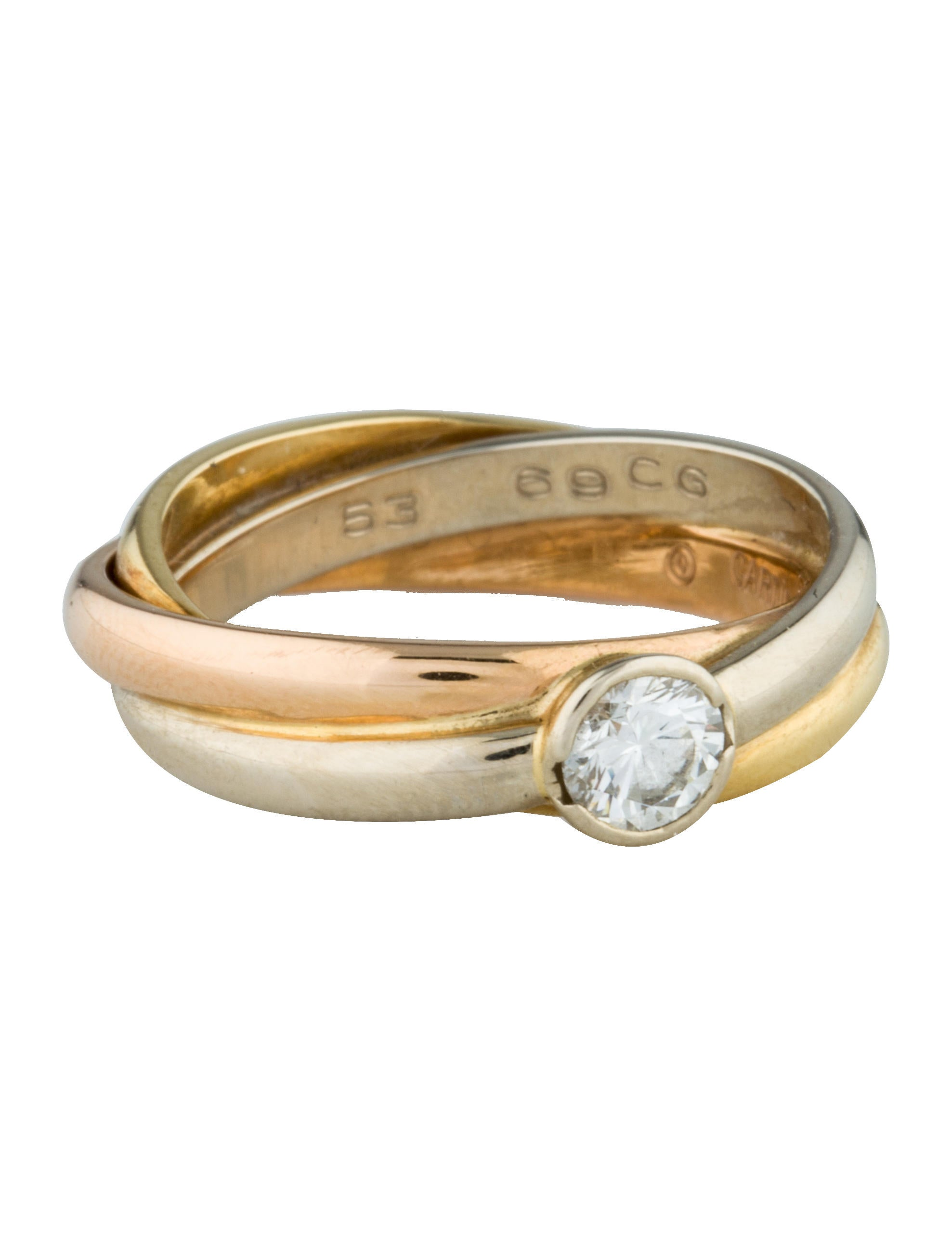 CARTIER TRINITY ENGAGEMENT RING PRICE