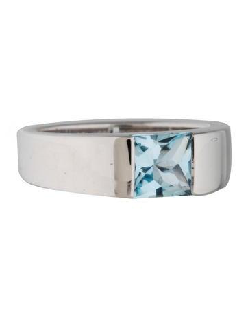 Cartier Aquamarine Tank Ring