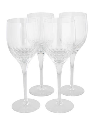 Crystal Wine Glasses None