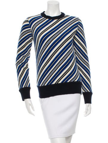 Ç x Façonnable Striped Wool Sweater w/ Tags None