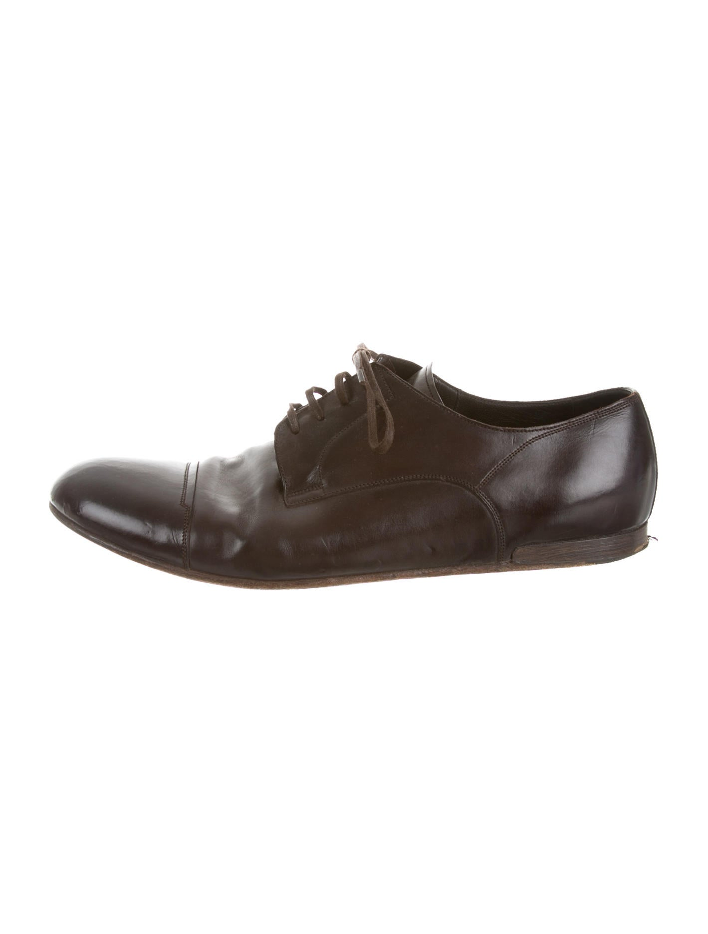 dolce gabbana brogues mens shoes dag38615 the realreal