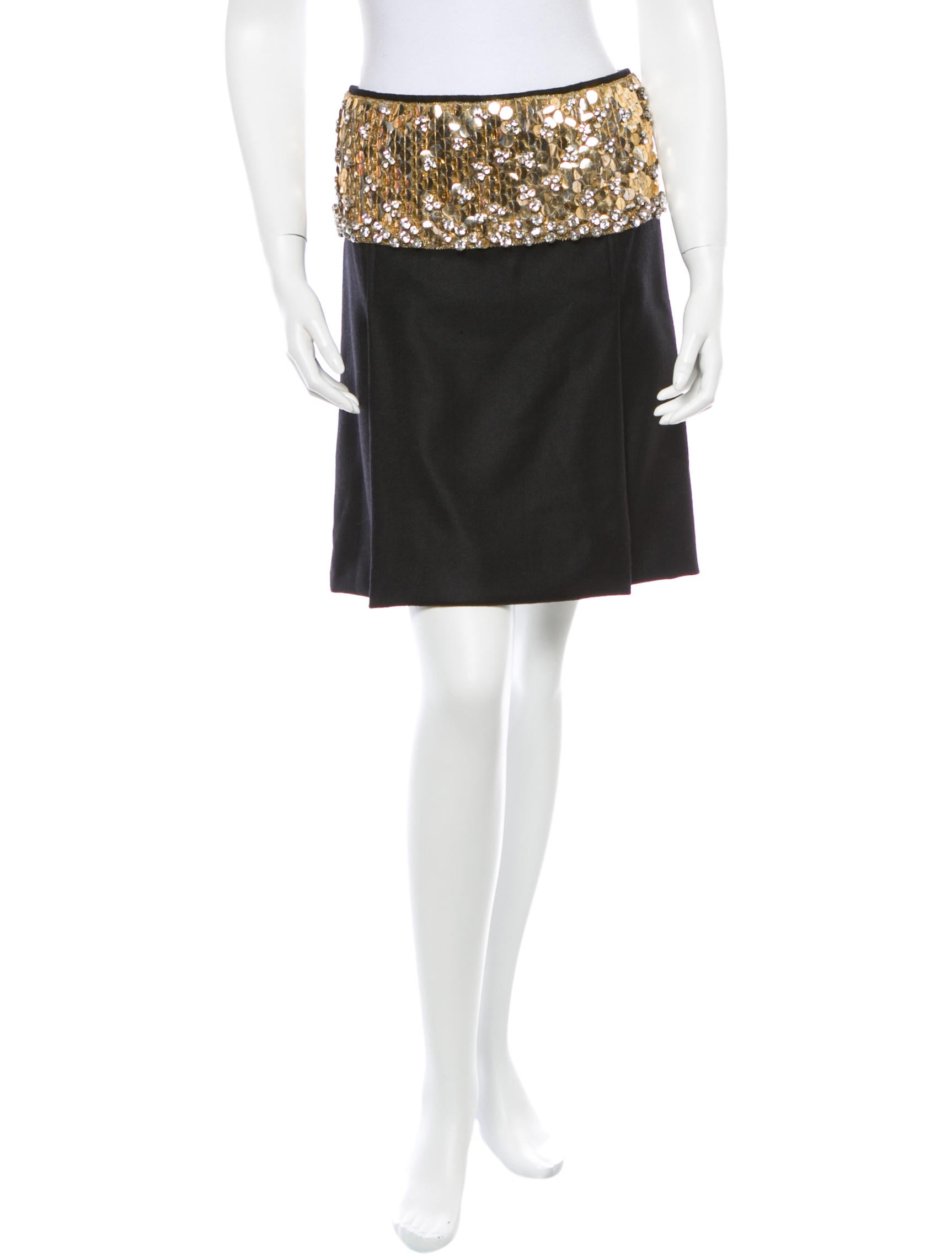 dolce gabbana sequin skirt skirts dag45038 the