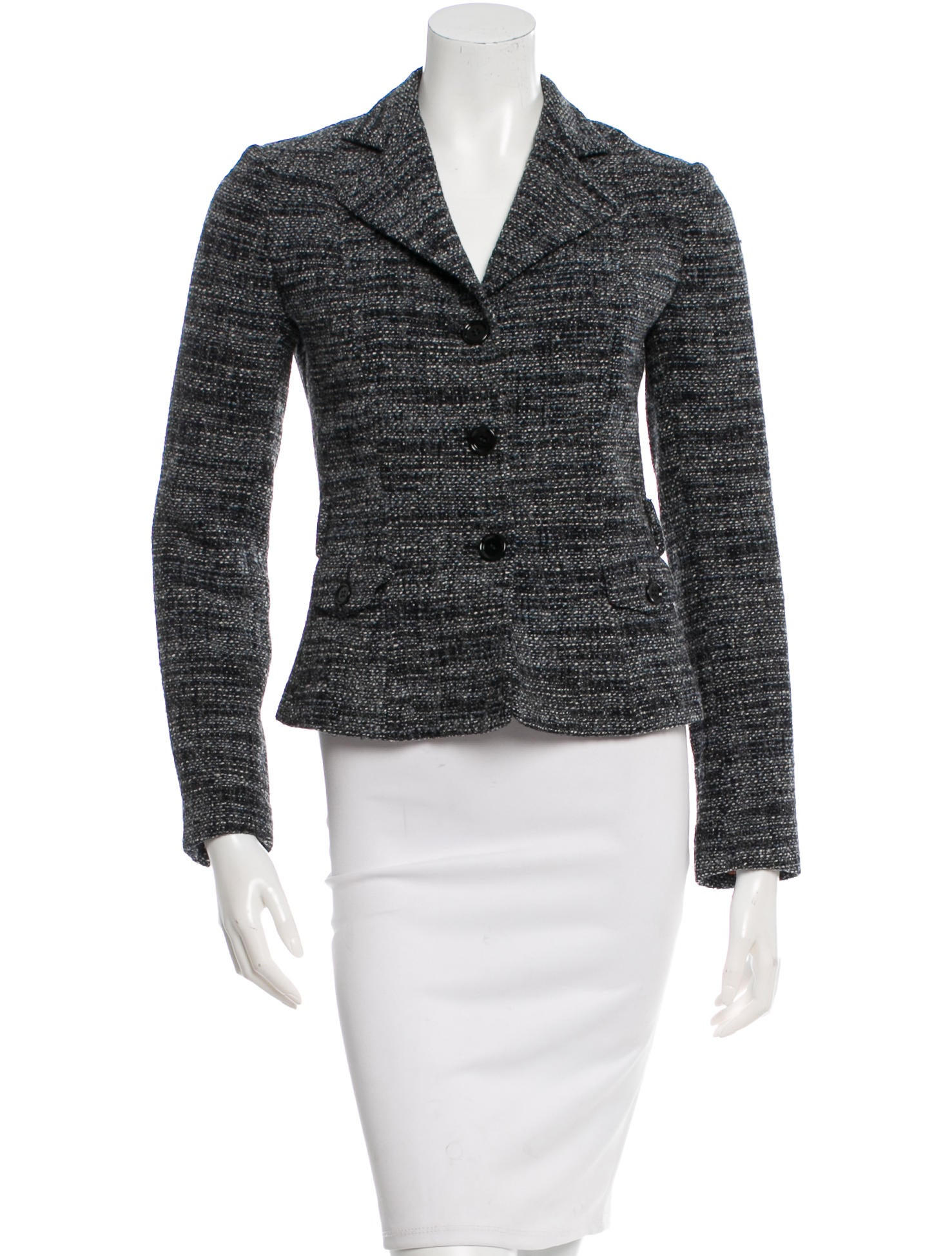Free shipping LIMITED OFFER Chest Pocket Tweed Casual Blazer in CAPPUCCINO 3XL with only $ online and shop other cheap Suits & Blazers on sale at warmongeri.ga