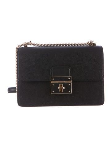 Dolce & Gabbana Rosalia Calfskin Crossbody Bag
