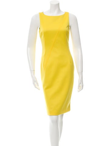 Dolce & Gabbana Sleeveless Knee-Length Dresss