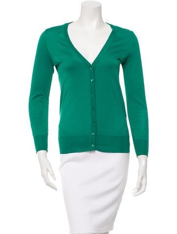 Dolce & Gabbana Silk Long Sleeve Cardigan None