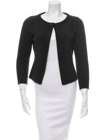 Dolce & Gabbana Wool Long Sleeve Cardigan None
