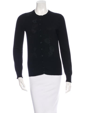 Dolce & Gabbana Appliqué Button-Up Cardigan None