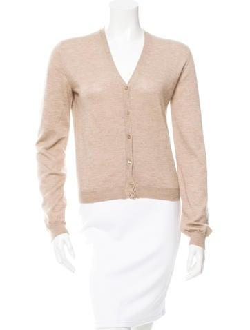 Dolce & Gabbana Cashmere Silk-Blend V-Neck Cardigan None
