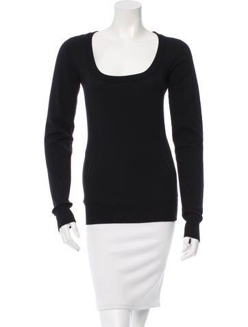 Dolce & Gabbana Knit Scoop Neck Sweater None