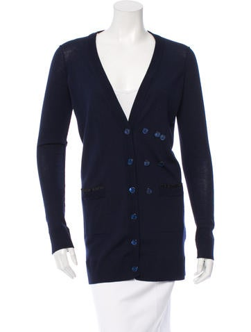 Dolce & Gabbana Wool & Silk-Blend Cardigan None
