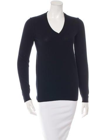 Dolce & Gabbana Cashmere Long Sleeve Sweater None