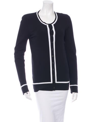 Dolce & Gabbana Structured Knit Cardigan None