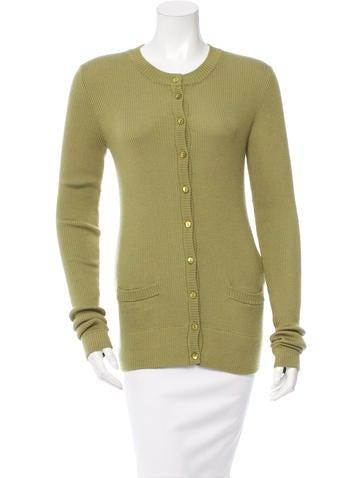 Dolce & Gabbana Cashmere Rib Knit Cardigan w/ Tags None