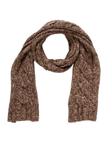 Dolce & Gabbana Cable Knit Scarf None