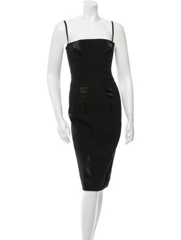 Dolce & Gabbana Bustier Sheath Dress None