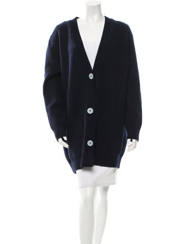 Derek Lam Oversize Wool Cardigan w/ Tags None